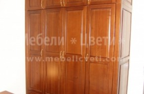 Български спален комплект от череша по индивидуални размери.