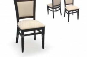 Тапицирания гръб на стола е изключително удобен и пасва идеално на гърбът