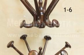 Букови закачалки в различни размери на стойка .С възможност за избор на стойка и корона .Предлагат се в 18 цвята .
