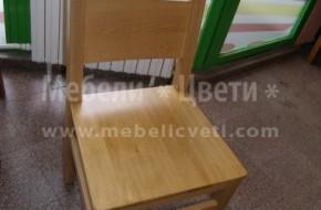 Всеки един стол може да е с дървена седалка ,като се доплаща 20лева на брой