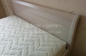Леглото е модел Милано за матрак 1640/ 1900  -цена 1050 лв  **без матрак и рамка