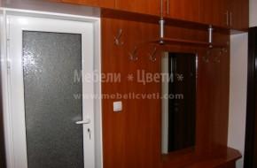 Портманто за малък коридор по поръчка.Мебелите за коридора са от ПДЧ  с ПВЦ кант 2 мм.